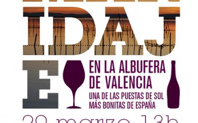 Cata de vinos en la Albufera de Valencia