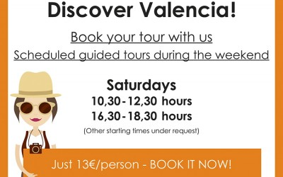 Regular guided tours in Valencia
